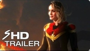 Video: CAPTAIN MARVEL (2019) First Look Trailer - Brie Larson Marvel Movie [HD] Concept